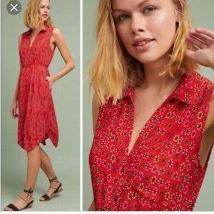 Anthropologie Maeve Vicki Floral Print Dress 4